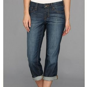 Lucky Brand Mid - Rise Relaxed Fit Sweet crop jean